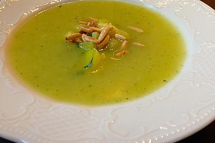 Zucchini - Creme - Suppe 6