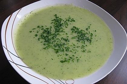 Zucchini - Creme - Suppe 0