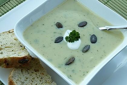 Zucchini - Creme - Suppe 2