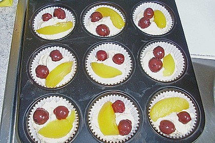 Fruchtige Marzipan - Muffins 7