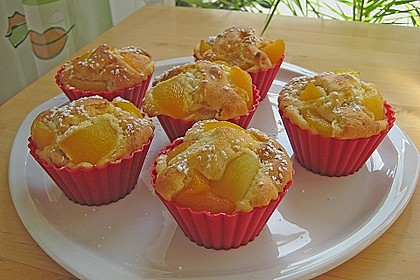 Fruchtige Marzipan - Muffins 1