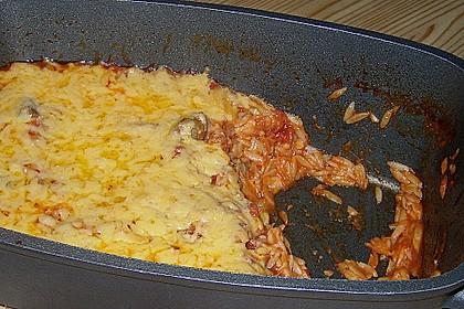 Kalbfleisch mit Nudeln aus dem Ofen 0