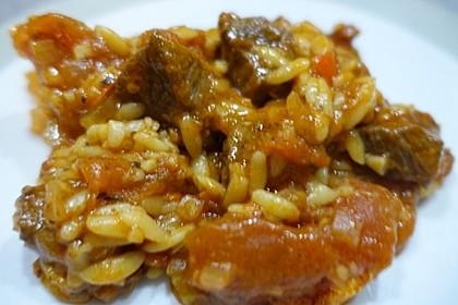 Kalbfleisch mit Nudeln aus dem Ofen 2