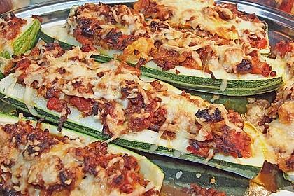 Gefüllte Zucchini 6