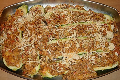 Gefüllte Zucchini 18