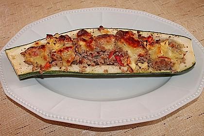 Gefüllte Zucchini 17