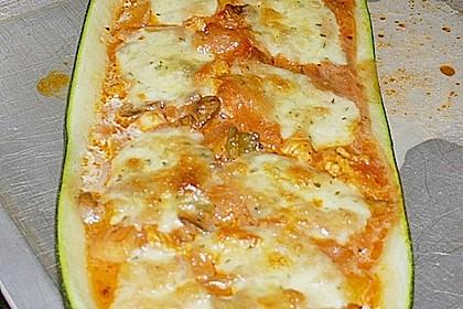 Gefüllte Zucchini 35
