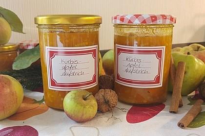 Apfel - Kürbis - Marmelade 20