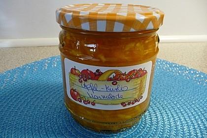 Apfel - Kürbis - Marmelade 30