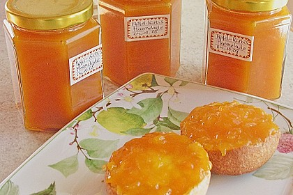 Apfel - Kürbis - Marmelade 1