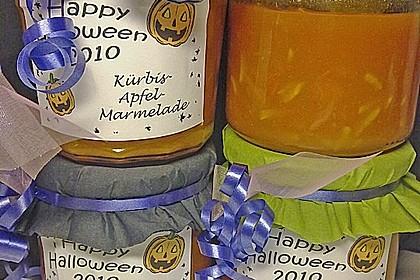 Apfel - Kürbis - Marmelade 9