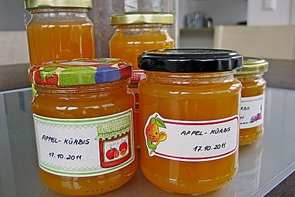 Apfel - Kürbis - Marmelade 10