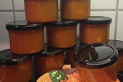 Apfel - Kürbis - Marmelade 15