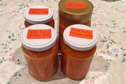 Apfel - Kürbis - Marmelade 43