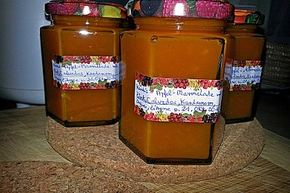 Apfel - Kürbis - Marmelade 40