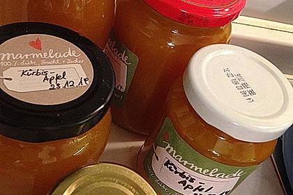Apfel - Kürbis - Marmelade 31