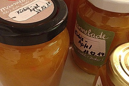 Apfel - Kürbis - Marmelade 38