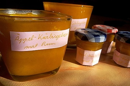 Apfel - Kürbis - Marmelade 8