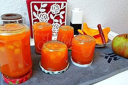 Apfel - Kürbis - Marmelade 0