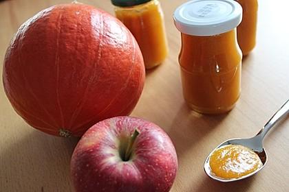 Apfel - Kürbis - Marmelade 2