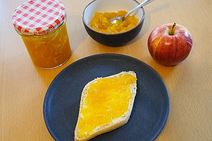 Apfel - Kürbis - Marmelade 3