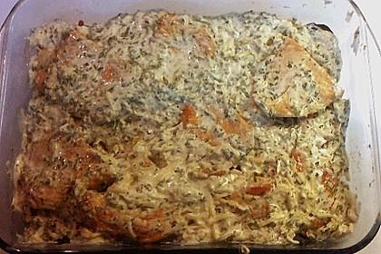 Bratkartoffelauflauf mit Schnitzel 41