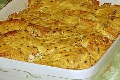 Bratkartoffelauflauf mit Schnitzel 22