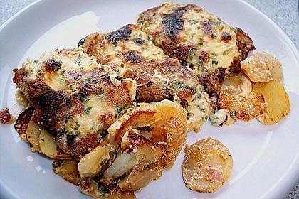 Bratkartoffelauflauf mit Schnitzel 25