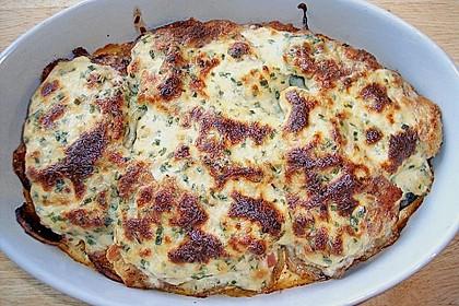Bratkartoffelauflauf mit Schnitzel 49