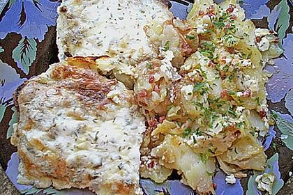 Bratkartoffelauflauf mit Schnitzel 40