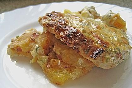 Bratkartoffelauflauf mit Schnitzel 4
