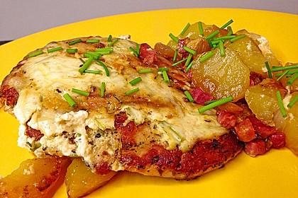 Bratkartoffelauflauf mit Schnitzel 2