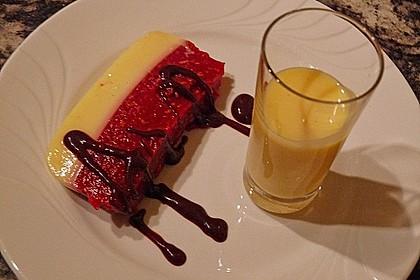 Himbeer - Eierlikör - Dessert 1