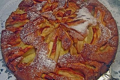 Apfelkuchen, sehr fein 9