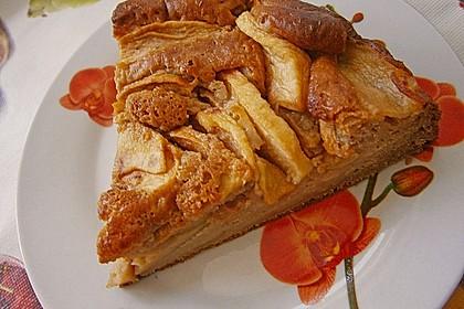 Apfelkuchen, sehr fein 4