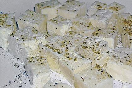 Selbst gemachter Frischkäse, Chennah oder Chana auf indisch 3