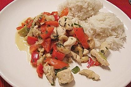 Gebratenes Hühnerfleisch mit Cashewkernen - Gai Pad Mamuang 9