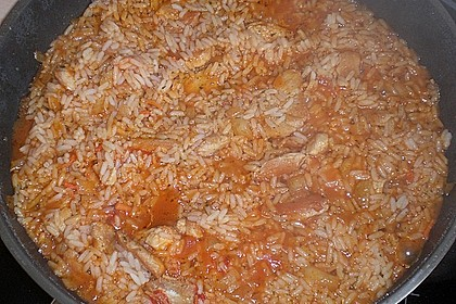 Puten-Reis-Pfanne 50