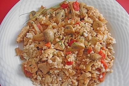 Puten-Reis-Pfanne 4