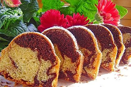 Marmorkuchen nach Frieda - klassische Art 21