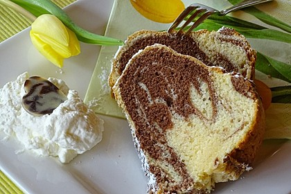 Marmorkuchen nach Frieda - klassische Art 4