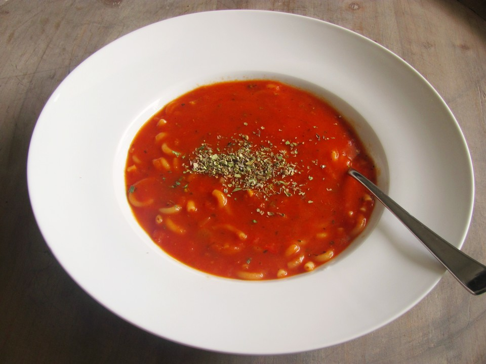 Rezepte schnelle tomatensuppe