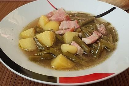 Bohnen - Kartoffel - Eintopf