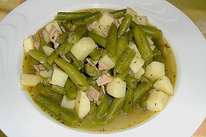 Bohnen - Kartoffel - Eintopf 1