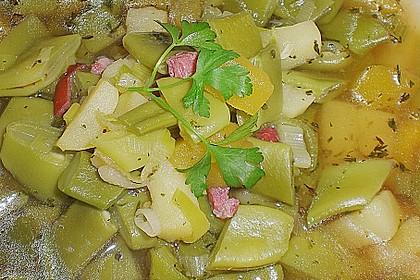 Bohnen - Kartoffel - Eintopf 10
