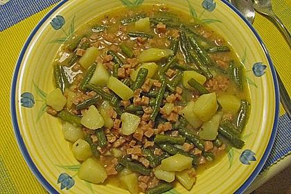 Bohnen - Kartoffel - Eintopf 11