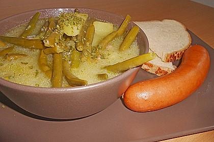 Bohnen - Kartoffel - Eintopf 15