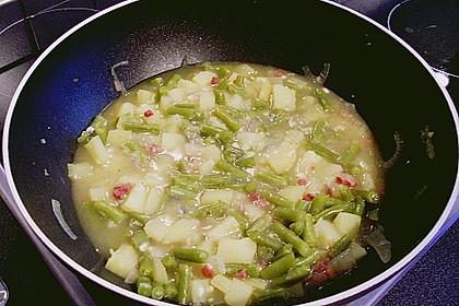 Bohnen - Kartoffel - Eintopf 17