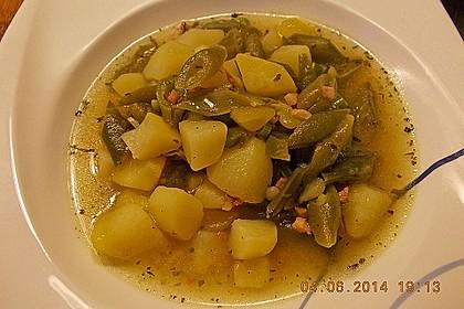 Bohnen - Kartoffel - Eintopf 9