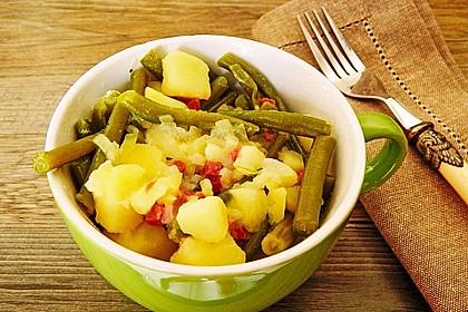 Bohnen - Kartoffel - Eintopf 8